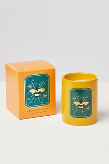 Oliver Bonas Honey & Nectar Scented Candle