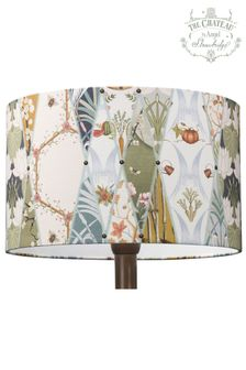 The Chateau by Angel Strawbridge Cream Nouveau Wallpaper Lamp Sade