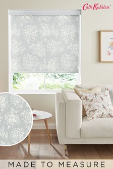 Cath Kidston Grey Washed Rose Made To Measure Roller Blind