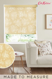 Cath Kidston Yellow Washed Rose Made To Measure Roller Blind