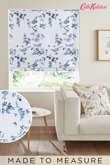 Cath Kidston Birds & Roses Blue Made To Measure Roman Blind