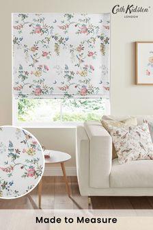 Cath Kidston White Birds & Roses Made To Measure Roman Blind