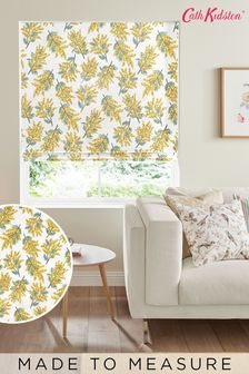Cath Kidston Yellow Mimosa Flower Made To Measure Roman Blind