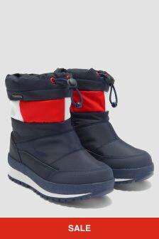 Tommy Hilfiger Boys Navy Boots
