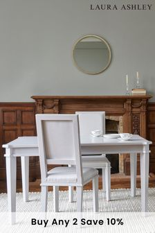 Henshaw Pale Steel Extending Dining Table