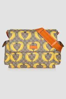 GUCCI Kids Baby Beige Changing Bag