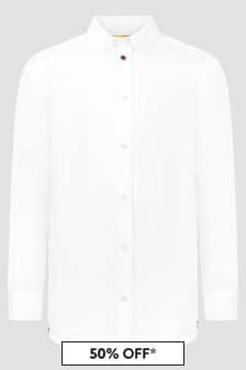 Paul Smith Junior Boys White Shirt