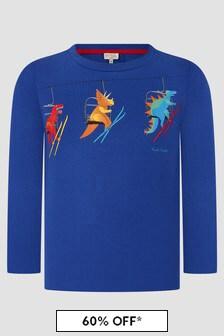 Paul Smith Junior Boys Blue T-Shirt