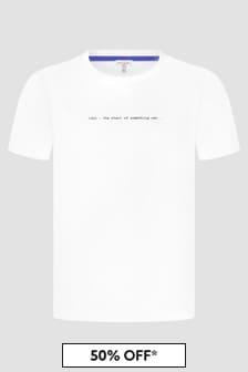 Paul Smith Junior Boys White T-Shirt