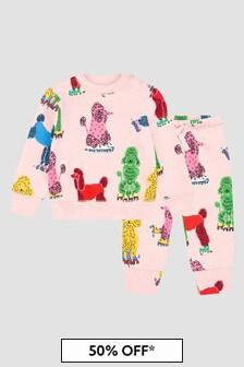 Stella McCartney Kids Baby Pink Tracksuit