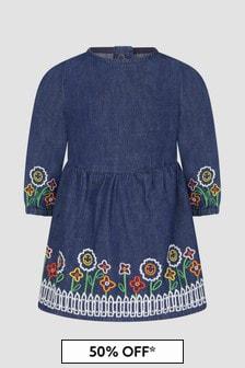 Stella McCartney Kids Baby Blue Dress