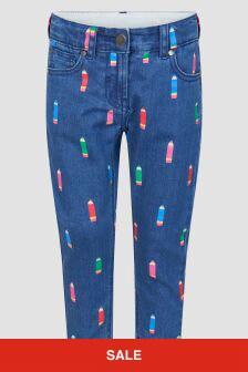 Stella McCartney Kids Girls Blue Jeans