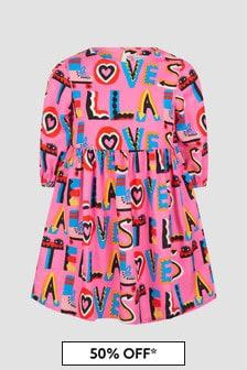 Stella McCartney Kids Girls Pink Dress