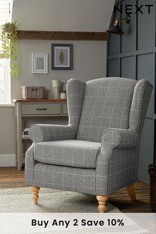 Sherlock Armchair With Light Legs