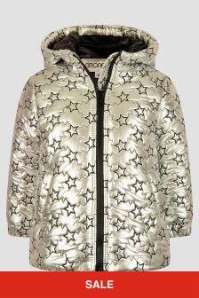 Simonetta Girls White Jacket