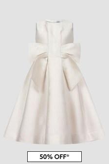 Simonetta Girls White Dress