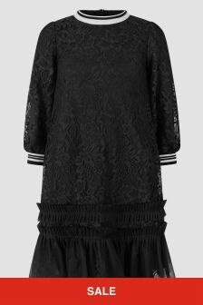Simonetta Girls Black Dress