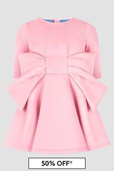 Simonetta Girls Pink Dress