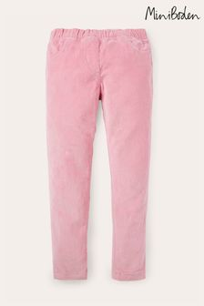 Boden Pink Cord Leggings