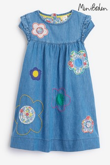Boden Blue Easy Everyday Dress