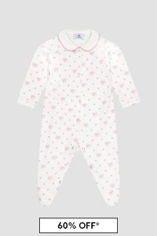 Chiara Ferragni Pink Sleepsuit