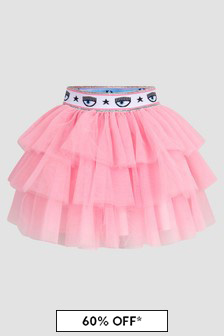 Chiara Ferragni Girls Pink Skirt
