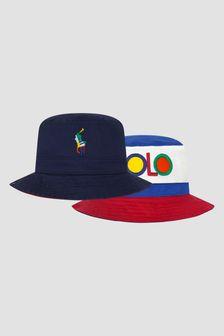 Ralph Lauren Kids Boys Navy Hat