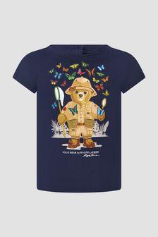 Ralph Lauren Kids Navy T-Shirt