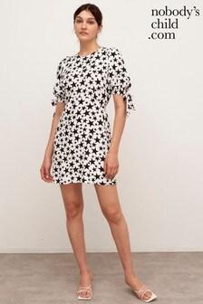 Nobody's Child Star Print Esme Mini Dress
