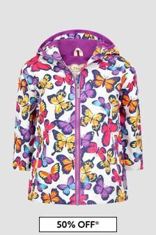 Hatley Kids & Baby Girls Purple Jacket