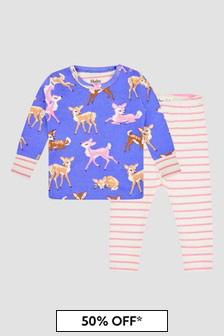 Hatley Kids & Baby Baby Girls Purple Pyjamas