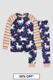 Hatley Kids & Baby Girls Navy Pyjamas