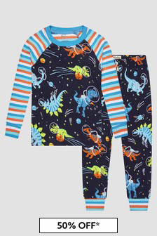 Hatley Kids & Baby Boys Navy Pyjamas