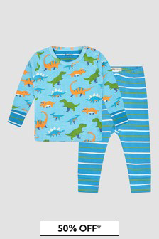 Hatley Kids & Baby Baby Boys Blue Pyjamas