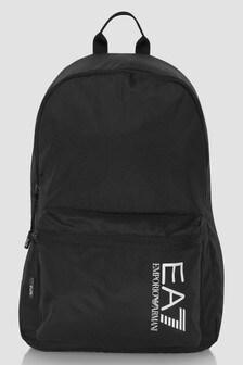 EA7 Emporio Armani Boys Black Backpack