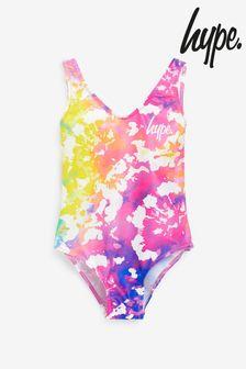 Hype. Tie Dye Swimsuit