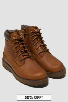 Timberland Boys Brown Boots