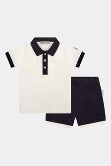 Moncler Enfant Boys T-Shirt And Shorts Set
