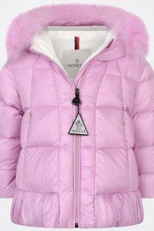 Moncler Enfant Baby Girls Down Padded Verney Coat