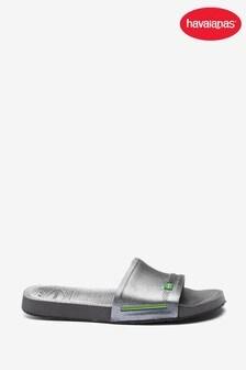 Havaianas Grey Brasil Sliders