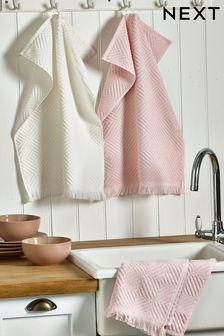 Set of 3 Terry Tea Towels