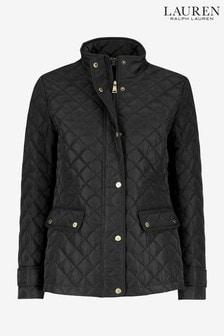 Lauren Ralph Lauren Black Quilted Insulated Jacket