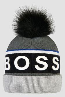 Boss Kidswear Boys Grey Hat