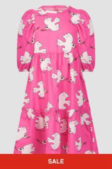 Mini Rodini Girls Pink Dress