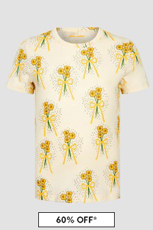 Mini Rodini Girls Yellow T-Shirt