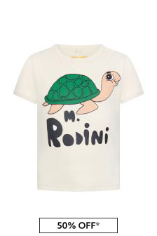 Mini Rodini Kids White T-Shirt