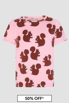 Mini Rodini Girls Pink T-Shirt