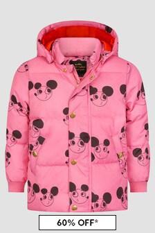 Mini Rodini Girls Pink Jacket