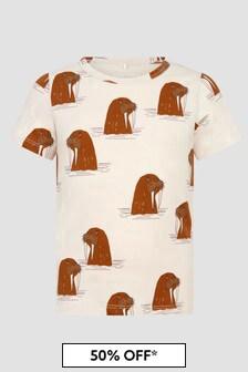 Mini Rodini Kids Cream T-Shirt