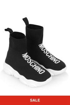 Moschino Kids Sock Trainers